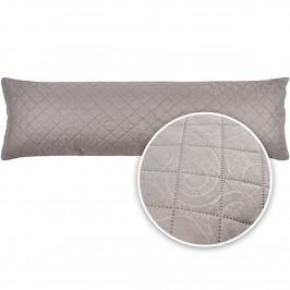4Home Povlak na relaxační polštář Náhradní manžel Orient šedá, 50 x 150 cm
