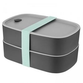 BergHOFF Box na svačinu dvojitý LEO šedá