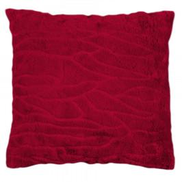 BO-MA Povlak na polštářek Clara červená, 45 x 45 cm