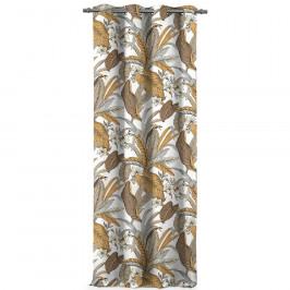 AmeliaHome Závěs Blackout Canopy hnědá, 140 x 245 cm