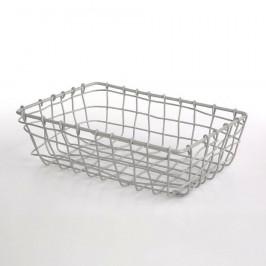 Altom Obdélníkový košík Grey, 26 x 19 x 8 cm