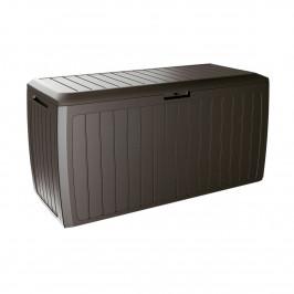 Zahradní úložný box Boxe Board hnědá, 290 l, 116 cm