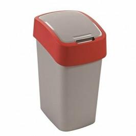 Curver Odpadkový koš FLIP BIN 10 l, červená