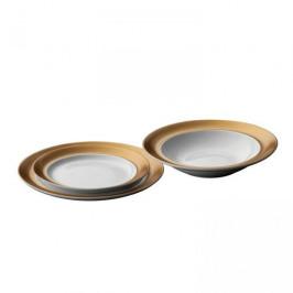 BergHOFF 3dílná sada porcelánových talířů GEM, bílá