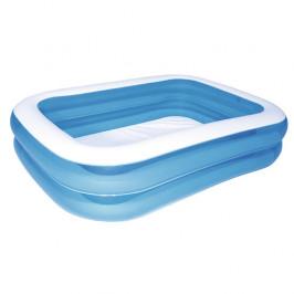 Bestway Modrý čtyřhranný rodinný bazén, 201 x 150 x 51 cm