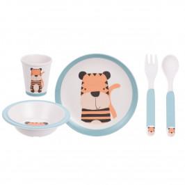 5dílná dětská jídelní sada, Tygřík