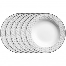 Mäser Sada hlubokých talířů ORNATE 21,5 cm, 6 ks