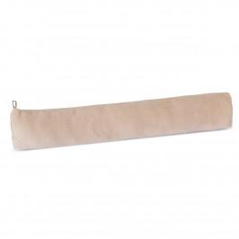 Bellatex Ozdobný těsnicí polštář LIN UNI béžová, 90 x 15 cm