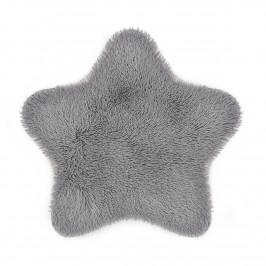 Domarex Kožešina Soft Star Plush šedá, 60 x 60 cm