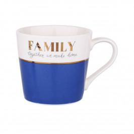 Altom Porcelánový hrnek 350 m, Family blue
