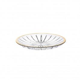 Altom Skleněný dezertní talíř Venus gold, 15,2 cm