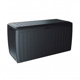 Zahradní úložný box Boxe Board antracit, 290 l, 116 cm