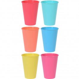 Excellent Houseware 6dílná sada plastových kelímků