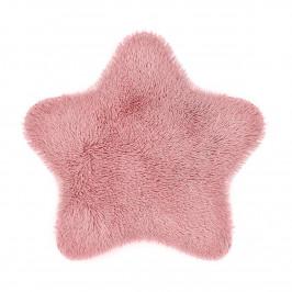 Domarex Kožešina Soft Star Plush růžová, 60 x 60 cm