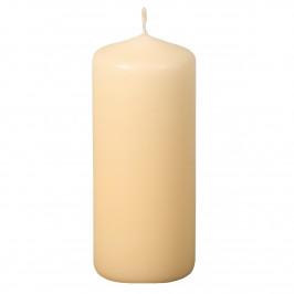 Svíčka Classic válec béžová, 6 x 15 cm