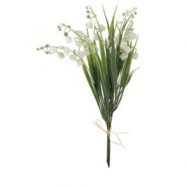 Umělá květina Konvalinka puget, 28 cm