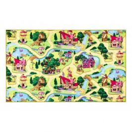 Vopi Dětský koberec Pohádková vesnice, 133 x 165 cm, 130 x 160 cm