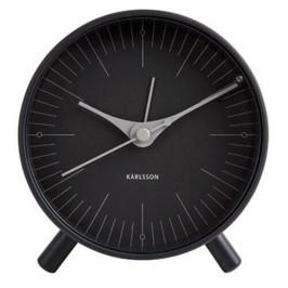 Karlsson 5777BK designový budík, 12 cm