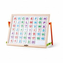 Woody Magnetická tabulka s ABC na stůl
