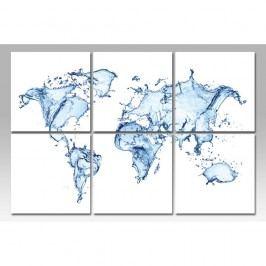 Autronic Vícedílný obraz World