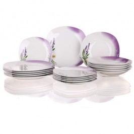 Lavender 18dílná jídelní sada