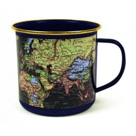 Plecháček s mapou světa, tmavý