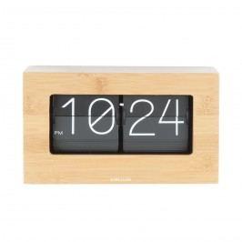 Karlsson 5620WD Designové stolní překlápěcí hodiny