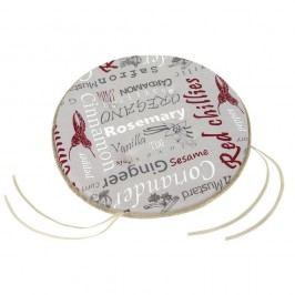 BELLATEX Sedák kulatý hladký GITA Koření, 40 cm