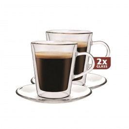 Maxxo Doppio 2dílná sada termo skleniček, 100 ml