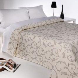 Přehoz na postel Lis béžová, 240 x 260 cm