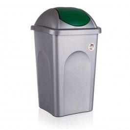 Multipat odpadkový koš zelená 5570158, 60 l