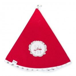 Altom Kuchyňská utěrka kruh Alice červená, pr. 70 cm,