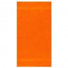 Ručník Olivia oranžová, 50 x 90 cm