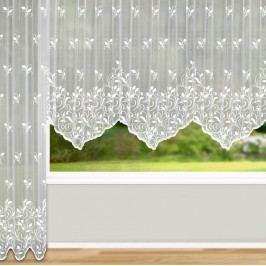 Záclona Bologna oblouk, 450 x 125 cm