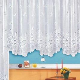 Záclona Flowers, 400 x 145 cm