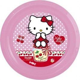 Hello Kitty plastový talíř 22 cm
