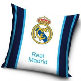 Tip Trade Polštářek FC Real Madrid Blue Stripes, 40 x 40 cm,