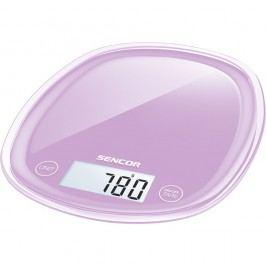 Sencor SKS 35VT kuchyňská váha, fialová