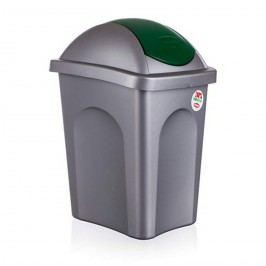 Koš odpadkový Multipat zelená, 30 l