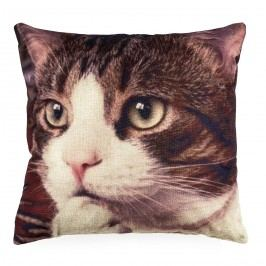 Jahu Povlak na polštářek Kočka, 45 x 45 cm