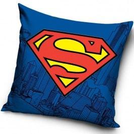 CARBOTEX Polštářek Superman bavlna 40/40 cm