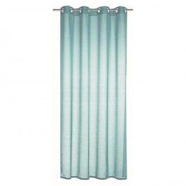 závěs s kroužky Alex světle modrá, 245 x 140 cm