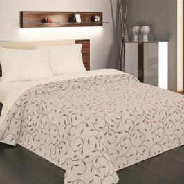 Přehoz na postel Indiana hnědá, 140 x 220 cm