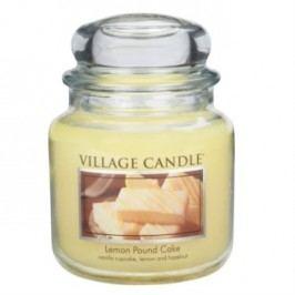 Village Candle Vonná svíčka ve skle, Citrónový koláč - Lemon Pound Cake, 397 g, 397 g