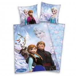 Herding Dětské BIO povlečení Ledové království Frozen, 135 x 200 cm, 80 x 80 cm