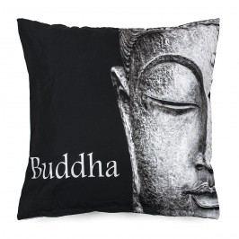 BO-MA Trading Povlak na polštářek Buddha face, 45 x 45 cm
