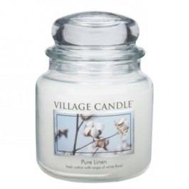 Village Candle Vonná svíčka ve skle, Čisté prádlo - Pure Linen, 397 g, 397 g
