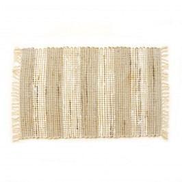 VOG Ručně tkaný koberec Juta světlá, 60 x 90 cm