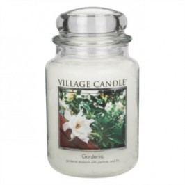 Village Candle Vonná svíčka ve skle, Gardénie - Gardenia, 645 g, 645 g