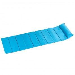Plážová rohož skládací modrá 180 x 60 cm,